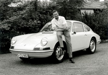 Ferdinand Porsche and the Typ 901 T8 (1963)