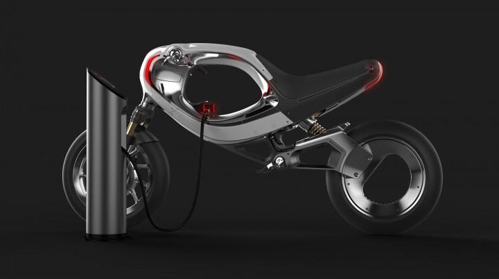 Frog Ebike Concept Car Body Design