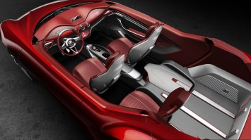 MG Icon Concept Interior