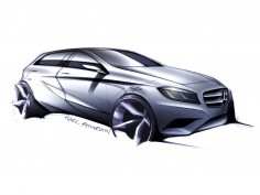 Mercedes-Benz designer Mark Fetherston on the A-Class