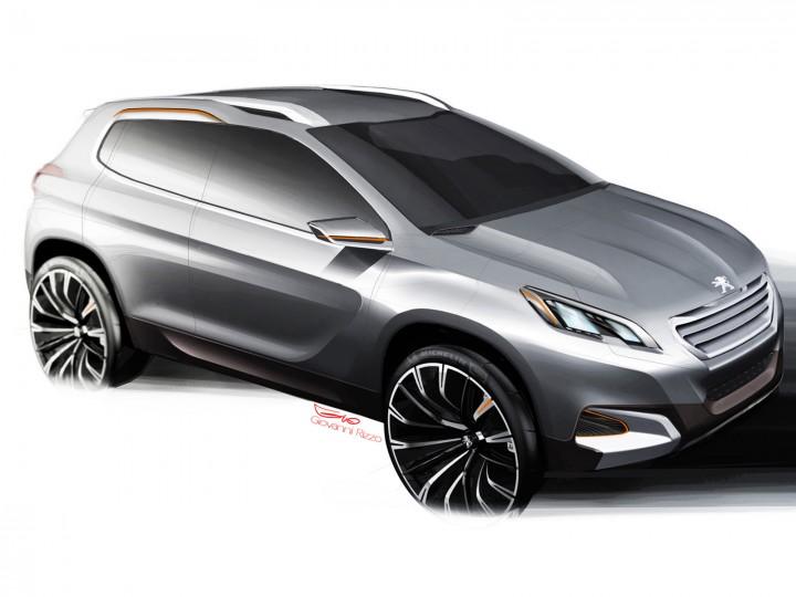 peugeot urban crossover concept design story car body design. Black Bedroom Furniture Sets. Home Design Ideas