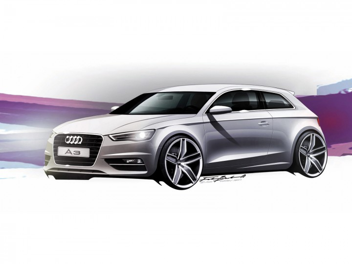 audi a3 design story car body design