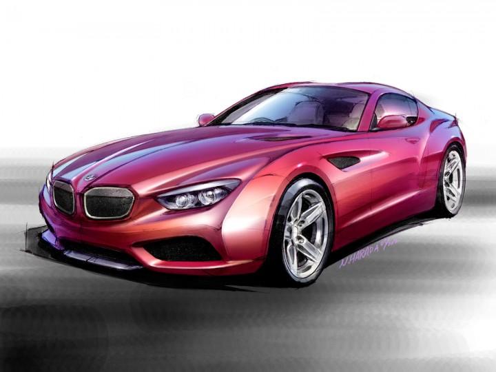 BMW Zagato Coupé - Car Body Design
