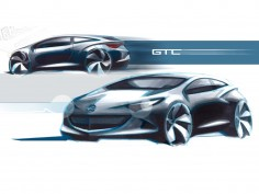 Opel Astra GTC: design gallery and video