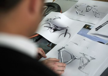 Audi e-bike Worthersee - Design Process