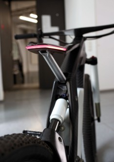 Audi e-bike Worthersee - Homogeneous LED light strip