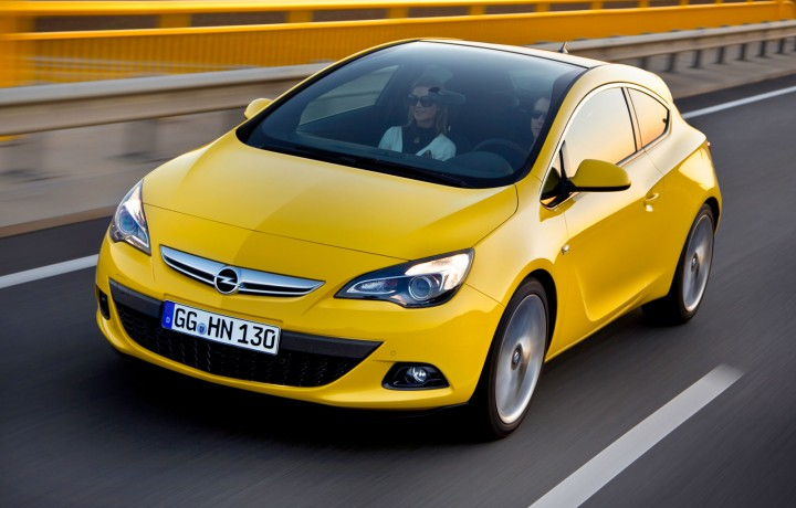 Opel Astra GTC: design gallery and video - Car Design