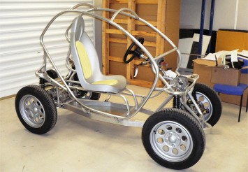 Renault Twizy - Early running prototype