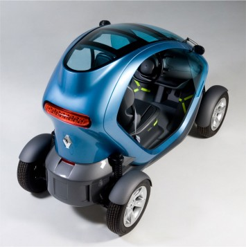 Renault Twizy Final Prototype