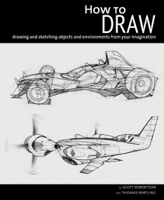 How to Draw by Scott Robertson - WIP cover