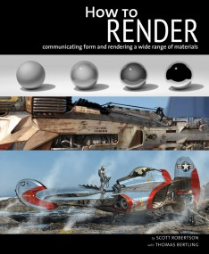 How to Render by Scott Robertson - WIP cover