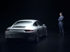 Michael Mauer on the Porsche 911