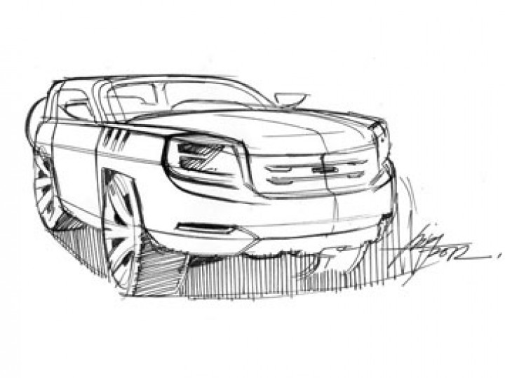 SUV Design Sketch Video