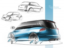 2020 MINI Brand Concept by Tyler Bame - Design Sketches