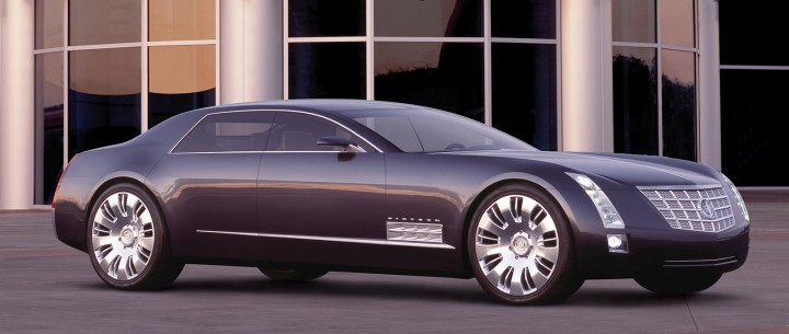 85 years of gm design the timeline part 2 car body design 2003 cadillac sixteen concept 2003 cadillac sixteen concept publicscrutiny Image collections