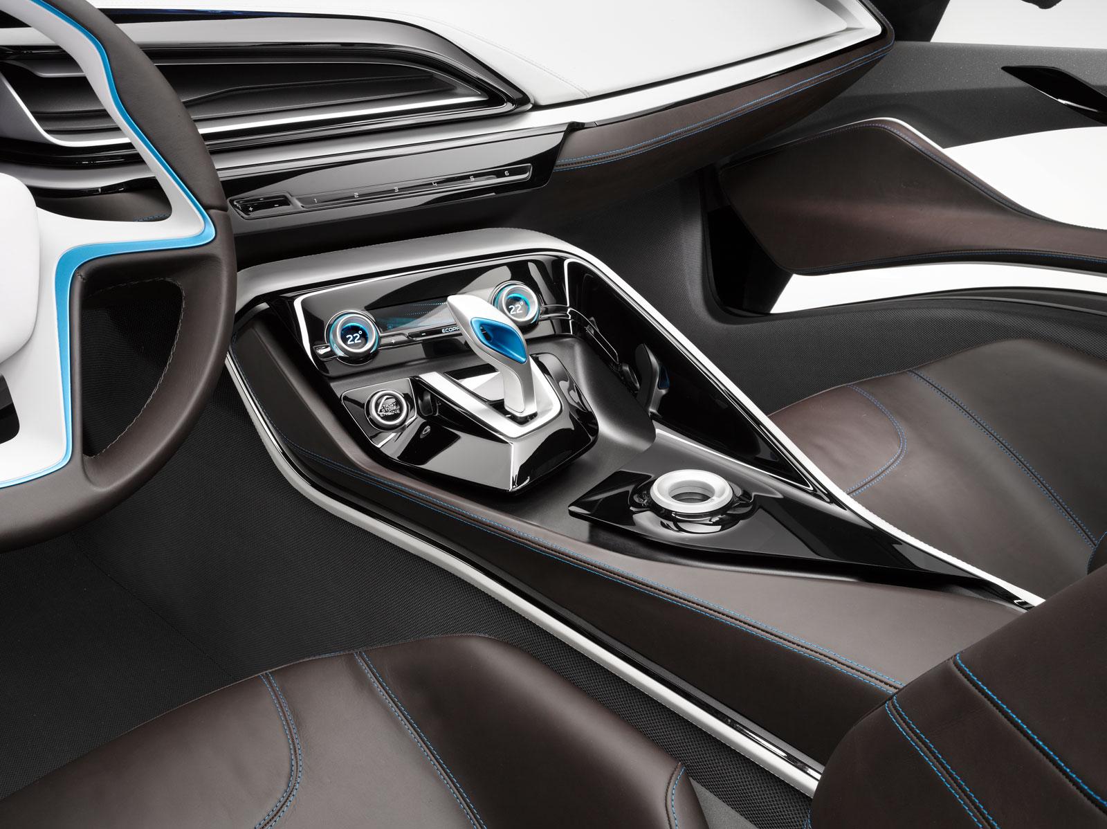 bmw i8 concept interior car body design. Black Bedroom Furniture Sets. Home Design Ideas