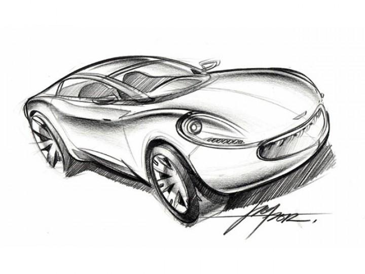 Car Sketch - Car Body Design