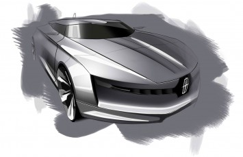 Lincoln MKF Concept by Brian Malczewski - Design Sketch