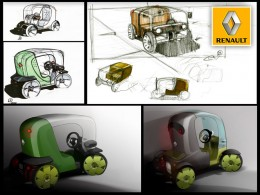 Renault Twizy Design Sketches