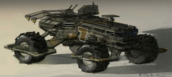Vehicle Sketch by Paul Christopher