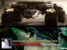 Free webinar: Vehicle and Mech Design Webinar with Paul Christopher
