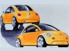 Volkswagen-Concept-One-design-sketch