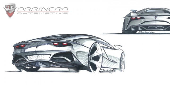 Arrinera Supercar New Design Sketches Car Body Design