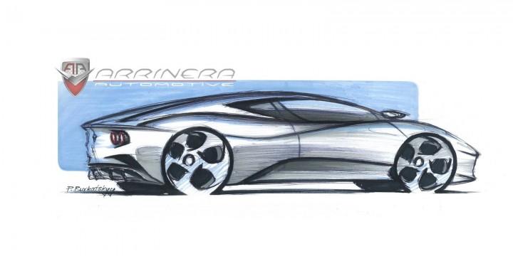 Arrinera Supercar New Design Sketches Car Body Design