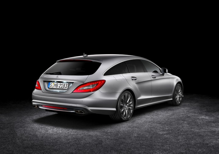 MercedesBenz CLS Shooting Brake  Car Body Design