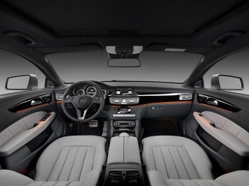 Mercedes-Benz CLS Shooting Brake Interior
