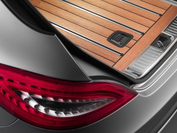 Mercedes-Benz CLS Shooting Brake Luggage Compartment