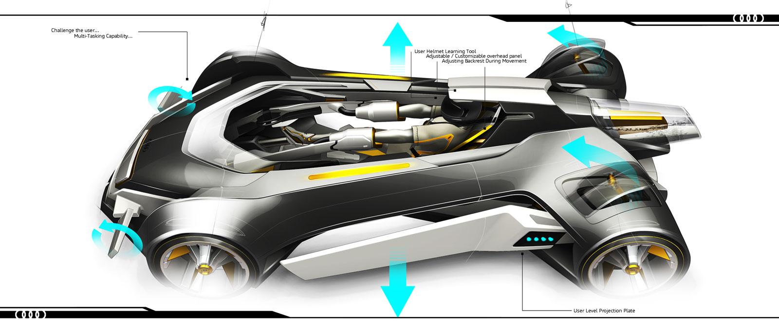 Audi elite concept design panel car body design for Elite design