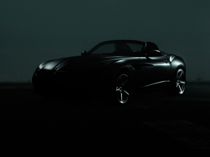 BMW Zagato Roadster: teaser image - Car Body Design