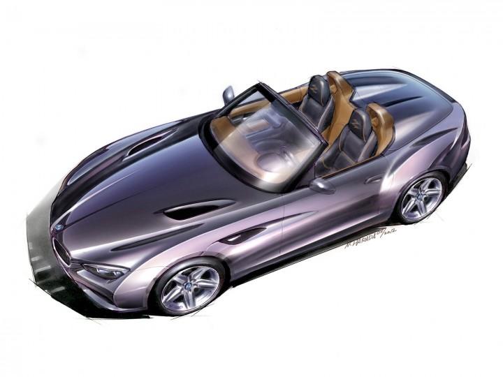 BMW Zagato Roadster - Car Body Design