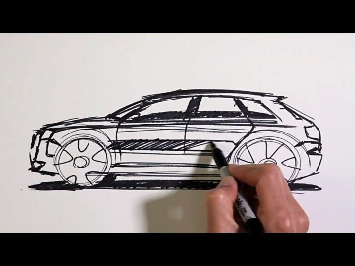 Audi Designer Jae Min On The A Etron Car Body Design - Audi car design