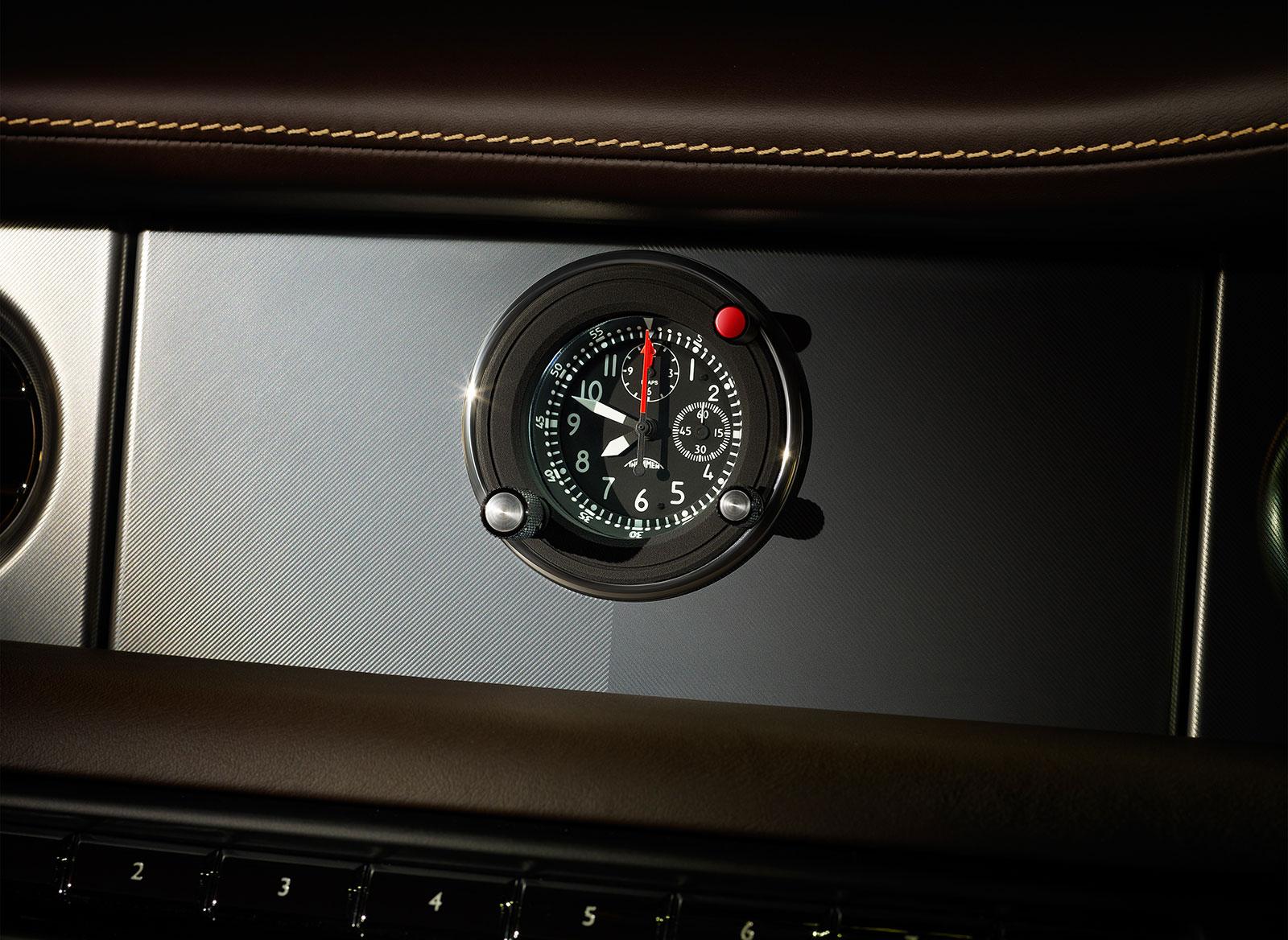 Rolls-Royce Phantom Coupe Aviator Collection Interior - Watch - Car