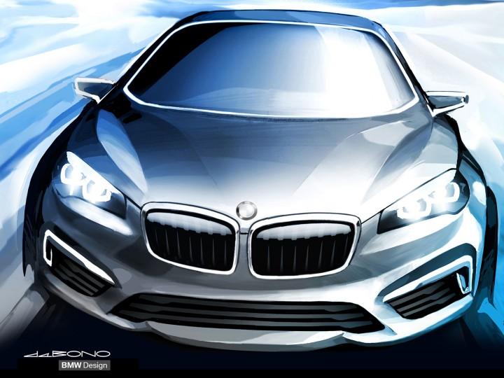 BMW Concept Active Tourer: Design Gallery - Car Body Design