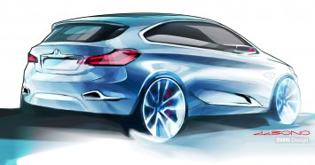 BMW Concept Active Tourer - Design Sketch