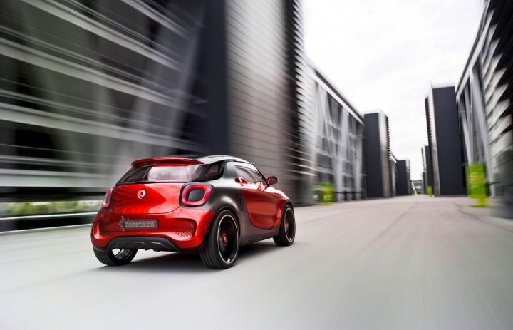 Smart Forstars Concept Car Body Design