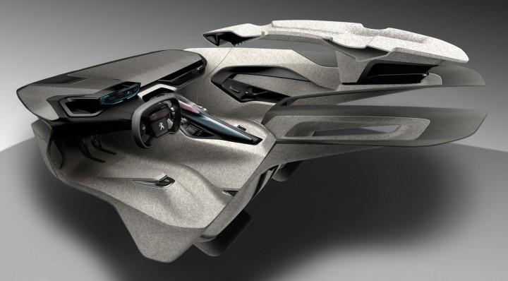 Peugeot Onyx Concept The Design Car Body Design