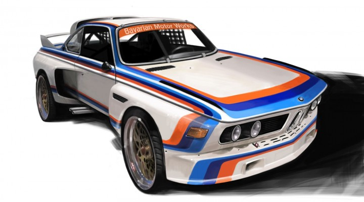 Chris Mikalauskas - BMW CSL race car