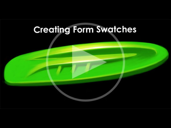 How to Draw Cars – Creating Form Swatches with Photoshop