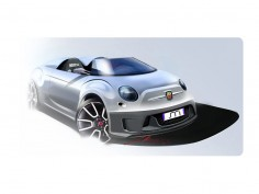 Abarth 500 Roadster by Madeindreams