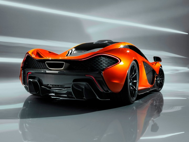 McLaren P1: first images