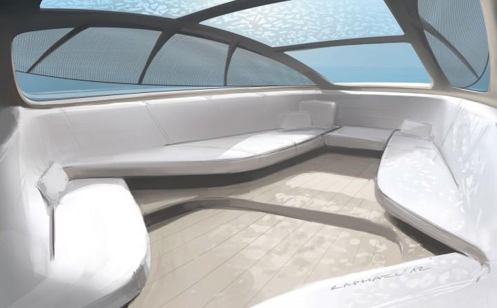 Boat Interior Design mercedes-benz style previews silver arrows motor yacht - car body