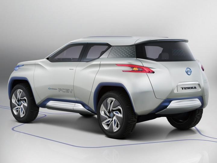 Nissan Terra Concept Car Body Design