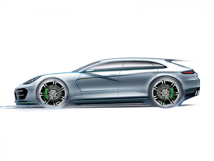 Porsche panamera sport turismo concept car body design porsche panamera sport turismo concept sciox Choice Image