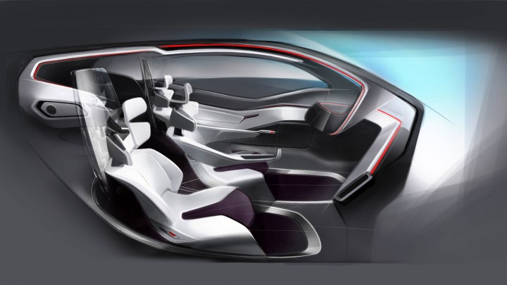 uid degree show 2012 volkswagen trimaran concept car body design. Black Bedroom Furniture Sets. Home Design Ideas