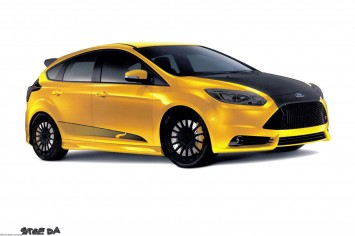 2013 Ford Focus ST by Steeda Autosports