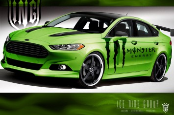 2013 Ford Fusion by Ice Nine Group